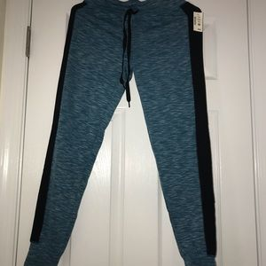 TAGS STILL ON Aeropostale teal tie-able joggers
